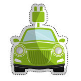 eco friendly car icon image Stock Photo