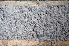 Eco-friendly cellulose insulation made from recycled paper. For building constructions, insulation for walls, ceiling insulation, insulation for floors, warm royalty free stock photos