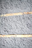 Eco-friendly cellulose insulation made from recycled paper. For building constructions, insulation for walls, ceiling insulation, insulation for floors, warm royalty free stock images
