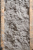 Eco-friendly cellulose insulation made from recycled paper Royalty Free Stock Photos