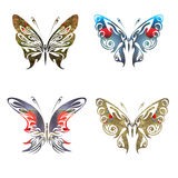 Eco friendly cocnept with butterflies Stock Image