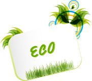 Eco friendly concept frame Stock Photography