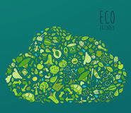 Eco Friendly concept, save earth concept Royalty Free Stock Photography