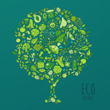 Eco Friendly concept, save earth concept Royalty Free Stock Image