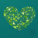Eco Friendly concept, save earth concept Stock Photos
