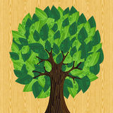 Eco friendly concept tree Royalty Free Stock Photo