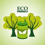 Eco friendly design Royalty Free Stock Image