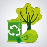 Eco friendly design Stock Photography