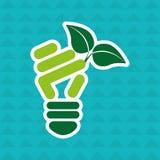 Eco friendly design. Illustration eps10 graphic Royalty Free Stock Photos