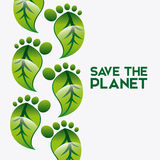 Eco friendly. Design, vector illustration eps10 graphic Stock Images
