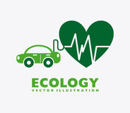 Eco friendly. Design, vector illustration eps10 graphic Royalty Free Stock Image