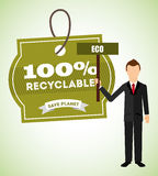 Eco friendly. Design, vector illustration eps10 graphic Stock Photo