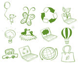 Eco-friendly designs Royalty Free Stock Images