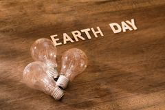 Eco friendly Earth day concept. Saving energy. Eco friendly Earth day concept. Saving energy Stock Photography