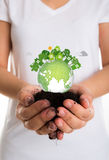 Eco friendly earth Stock Photos