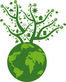 Eco friendly Earth Stock Photo