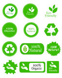 Eco friendly elements Stock Photography