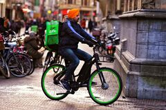 Free Eco-Friendly Food Delivery Stock Photo - 174466410