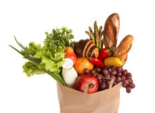 Eco friendly food shopping Stock Photography