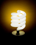 Eco-friendly green light bulb, lamp Royalty Free Stock Photography