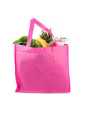 Eco friendly grocery bag Stock Photography