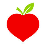 Eco friendly heart Royalty Free Stock Photos