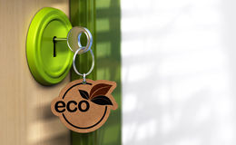 Eco friendly home Stock Images