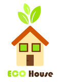 Eco friendly house Royalty Free Stock Images