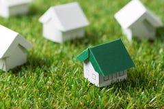 Eco friendly house Stock Photo