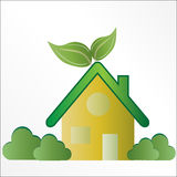 Eco Friendly House / Home Royalty Free Stock Image