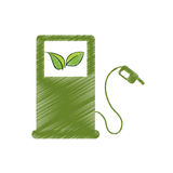 Eco friendly icon image Royalty Free Stock Photography