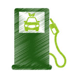 Eco friendly icon image Royalty Free Stock Images