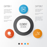 Eco-Friendly Icons Set. Collection Of Cigarette, Delete Woods. Save World And Other Elements Stock Images