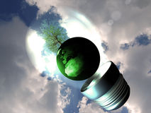 Eco-friendly idea stock illustration