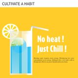 Eco Friendly Ideas Chill water Royalty Free Stock Images
