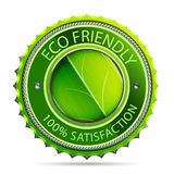 Eco friendly label Royalty Free Stock Photography
