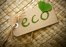Eco friendly label Royalty Free Stock Image