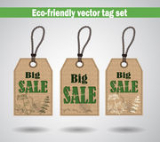 Eco Friendly Labels Stock Photography