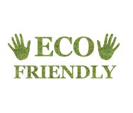 Eco friendly logo Royalty Free Stock Photos