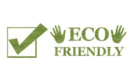Eco friendly logo Royalty Free Stock Photography