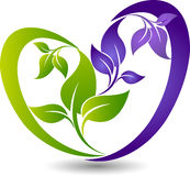 Eco friendly logo Royalty Free Stock Images