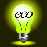 Eco Friendly Means Go Green And Earth Stock Image