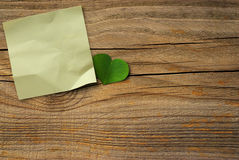 Eco friendly message, green communication royalty free stock photography