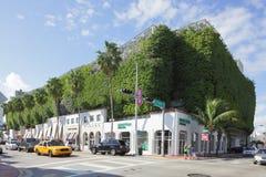 Eco-friendly parking garage Miami Royalty Free Stock Photos