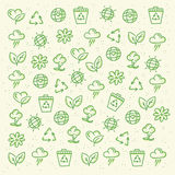 Eco friendly pattern Stock Images
