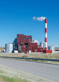 Eco-friendly power station Royalty Free Stock Images