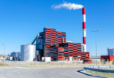 Eco-friendly power station Royalty Free Stock Photo