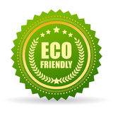 Eco friendly product certificate Royalty Free Stock Image