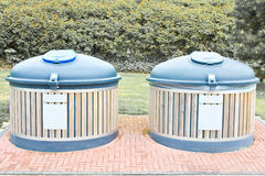 Eco Friendly Recycle bin Royalty Free Stock Image