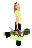 Eco friendly shopping Royalty Free Stock Photography